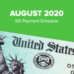 SSI Social Security Benefits Payment Schedule: August 2020