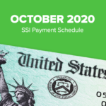 SSI Social Security Benefits Payment Schedule: October 2020