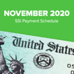 SSI Social Security Benefits Payment Schedule: November 2020