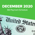 SSI Social Security Benefits Payment Schedule: December 2020
