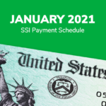SSI Social Security Benefits Payment Schedule: January 2021